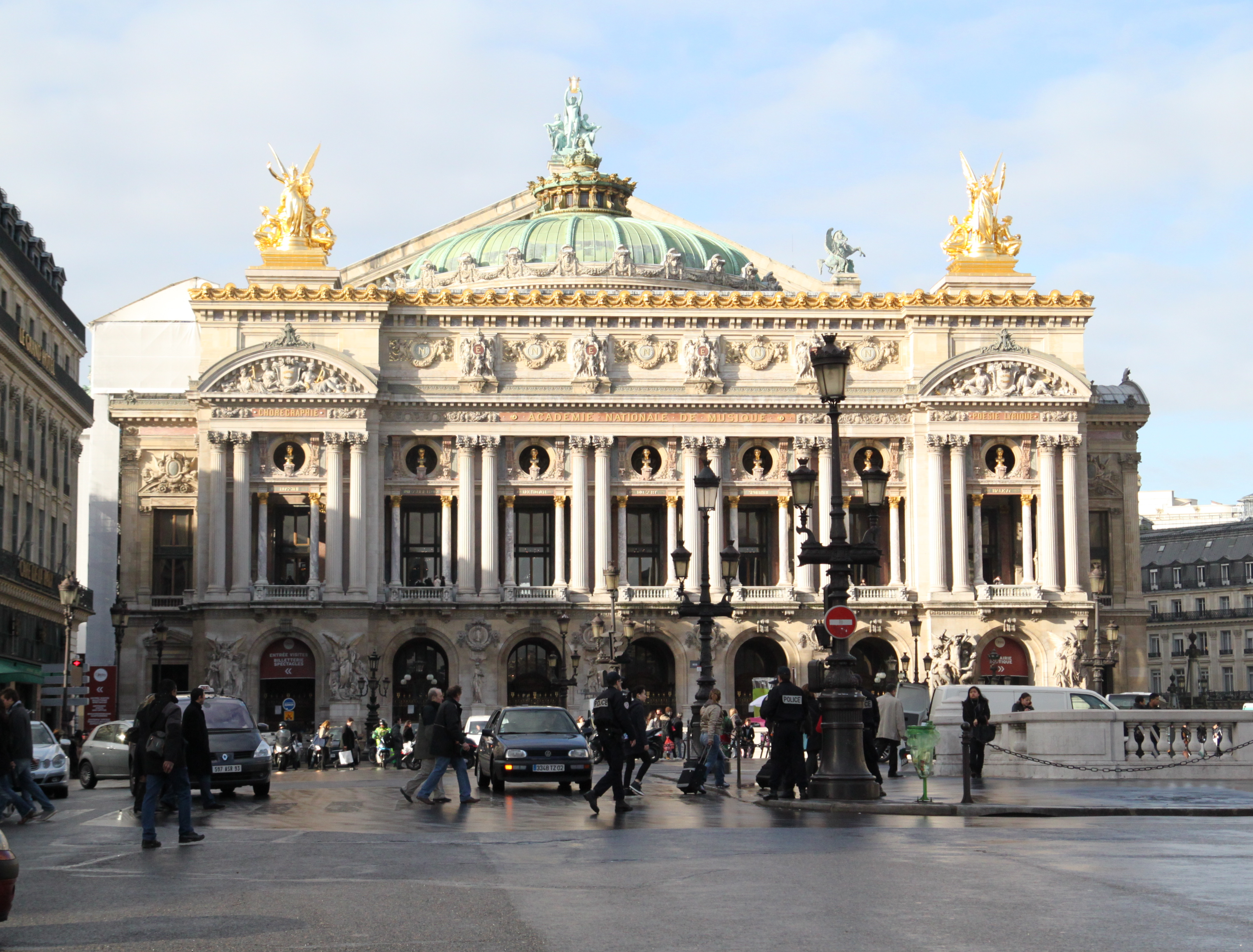 Opera Garnier Elaine S Moveable Feast